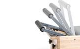 Pilates Reformer Footbars
