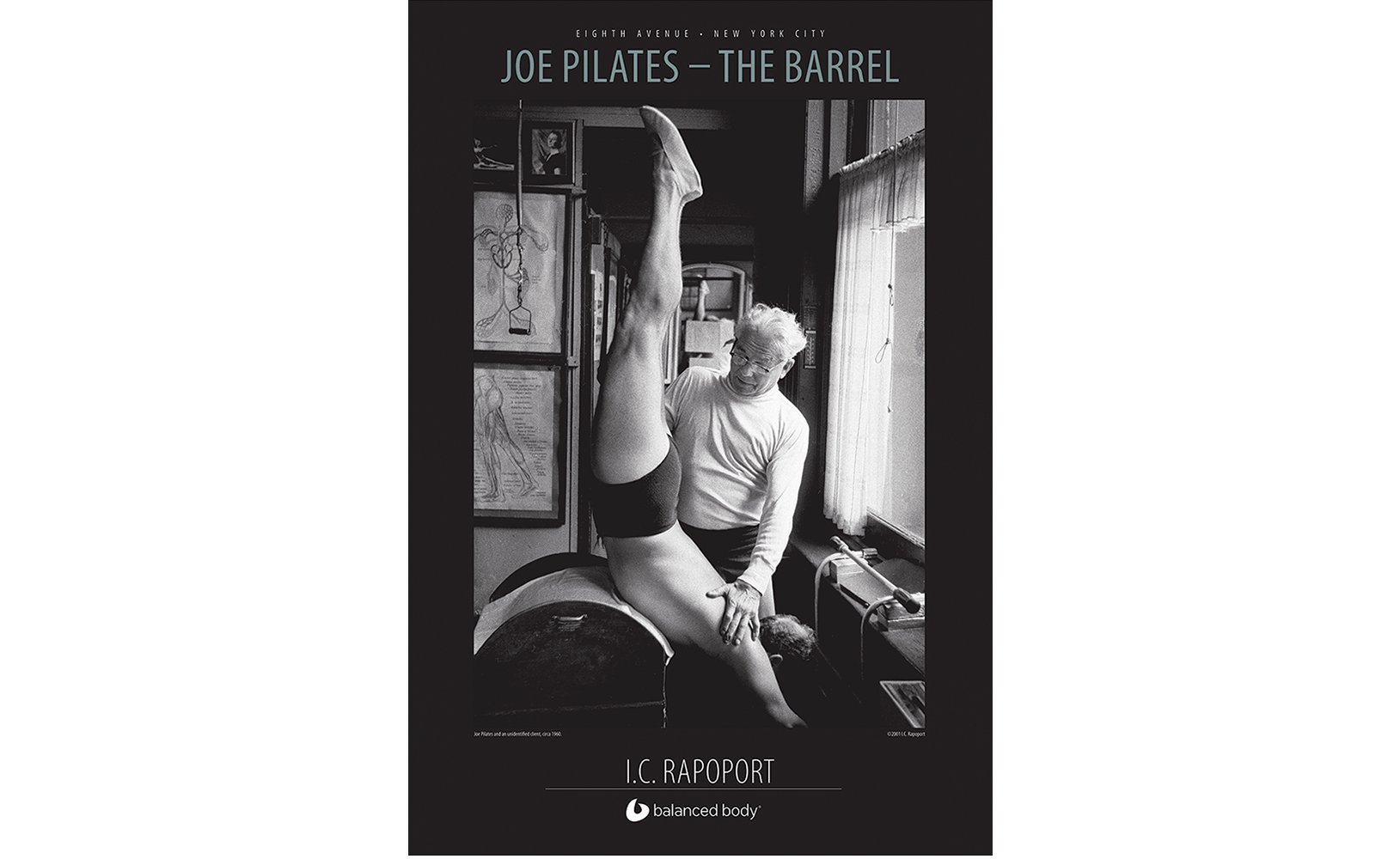 Rapaport 'The Barrel' poster product photo