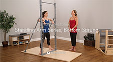 Standing Arm Series, Bottom Sprung