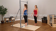 Standing Arm Series, Top Sprung