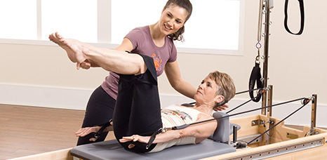Clinical Reformer Tower Combination workout photo