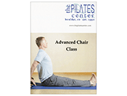 Advanced Chair Class from The Pilates Center product shot