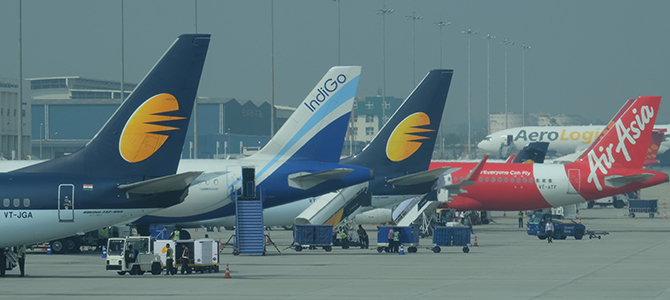 Indian Low Cost Airlines on the rise.