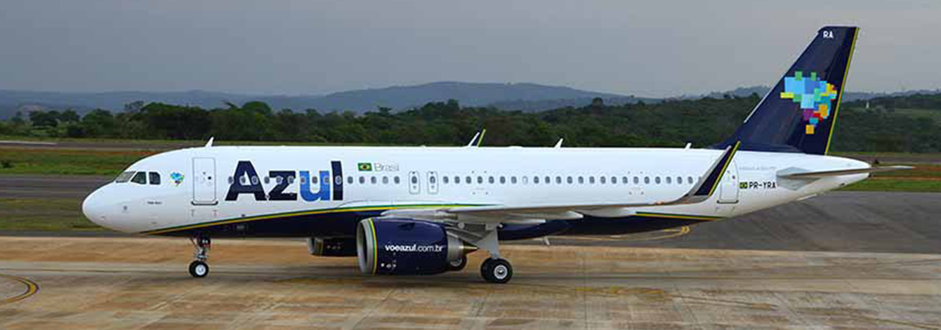 New Airbus A320neo for Azul (Brazil)