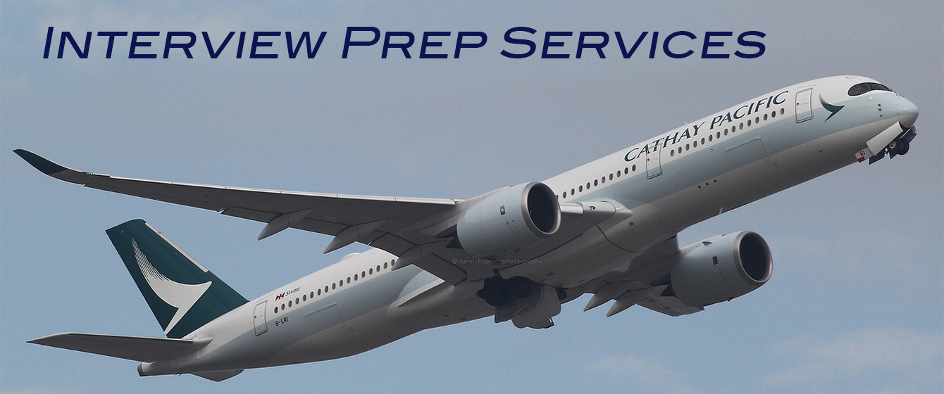 Cathay Pacific & Major Airline Interview Prep Services by PCC