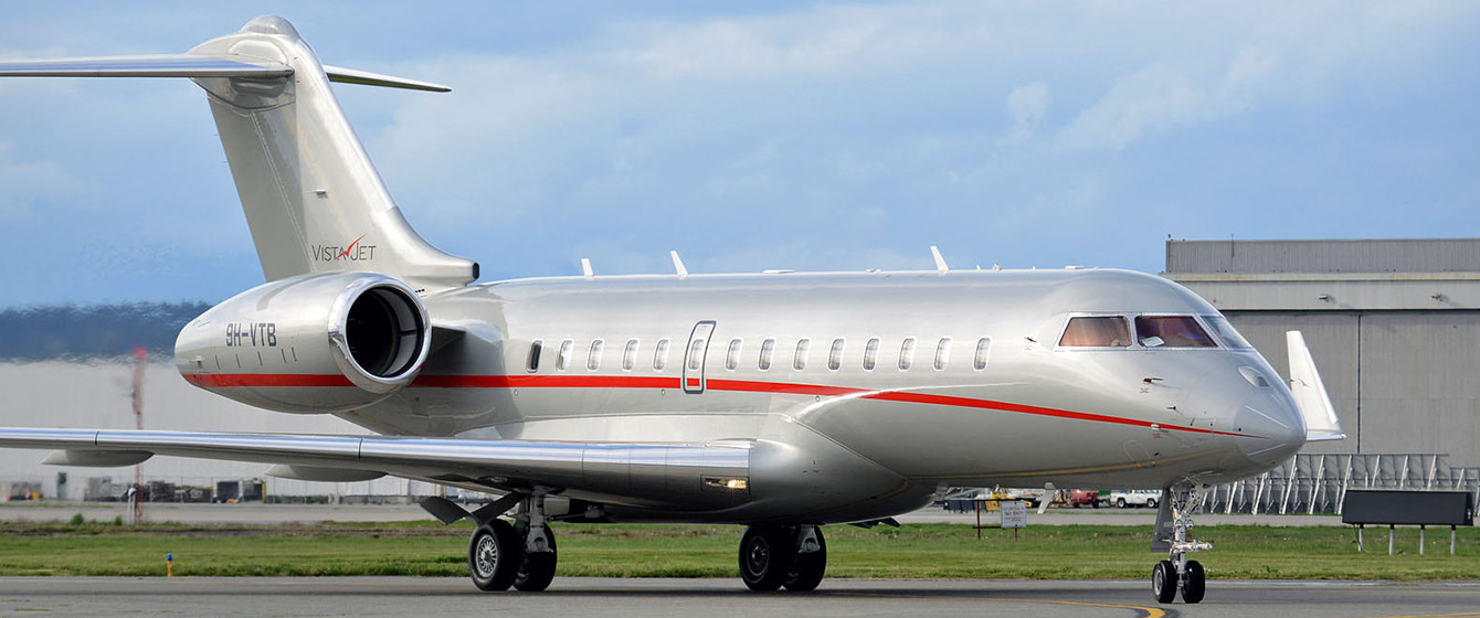 VistaJet Bombardier Global Jet