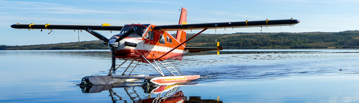 Big River Camps DeHavilland Turbo Beaver hard at work
