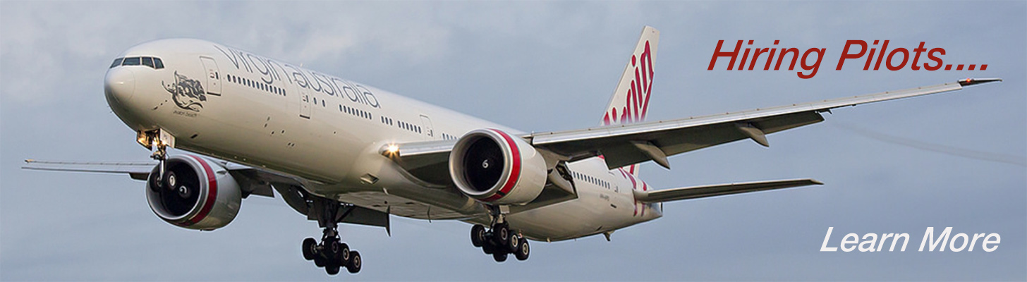 Virgin Australia 777-300ER on Final Approach.