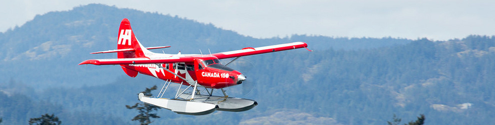 Harbour Air Canada themed Turbo Otter