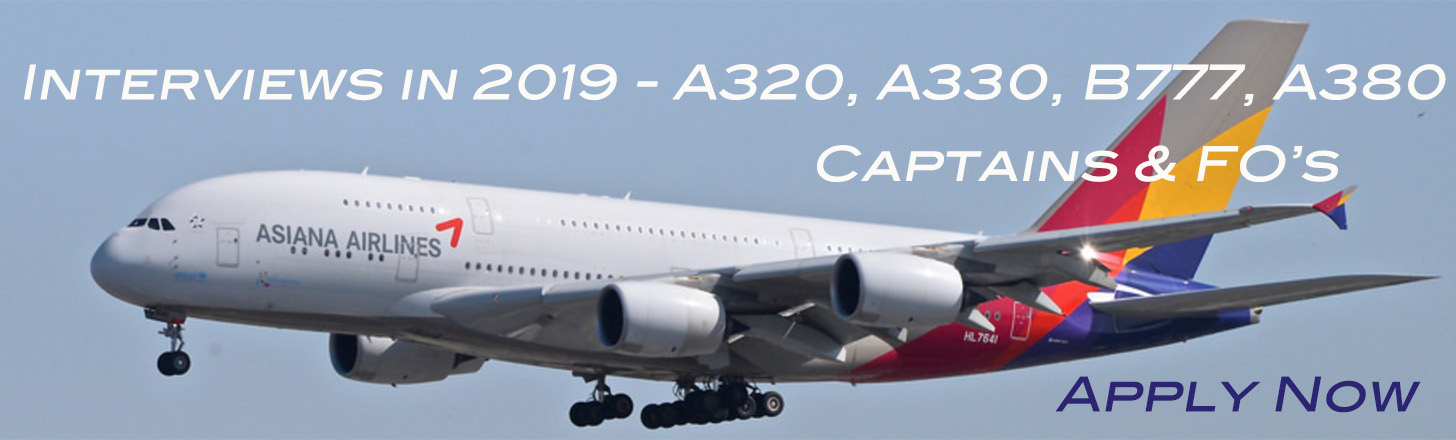 Asiana Pilot Interviews - 2019