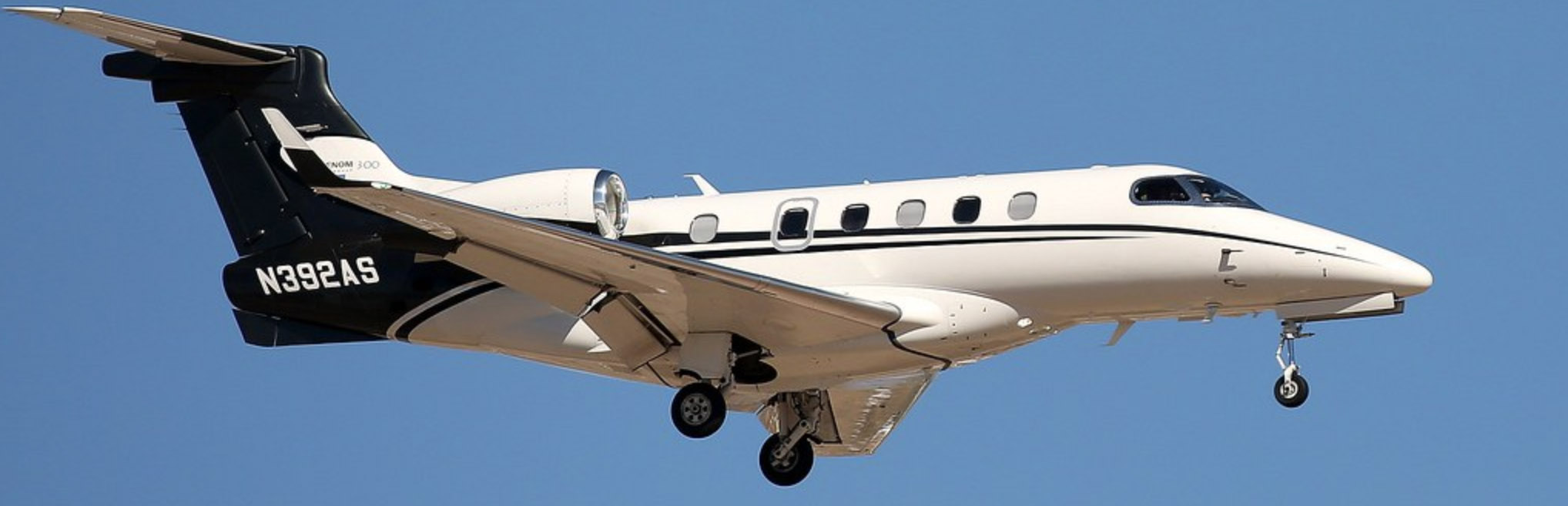 Airshare Embraer Phenom 300 on Final Approach
