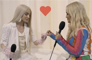 Poppy And Rita Ora