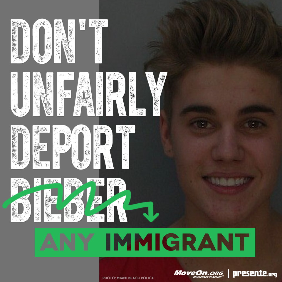 Don't unfairly deport any immigrant!