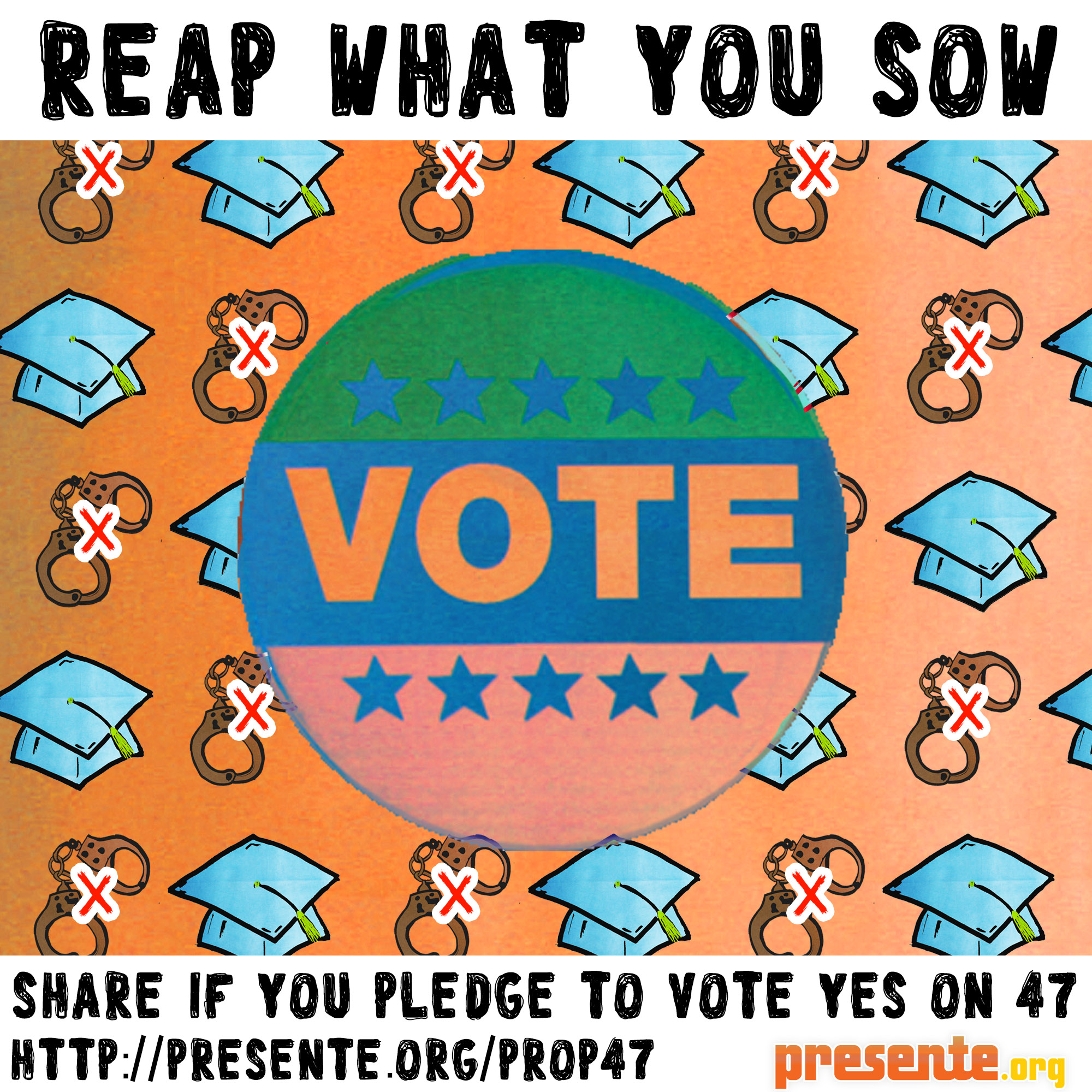 Reap what you sow Vote