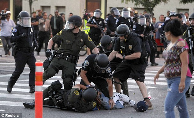 Image result for police violence in US
