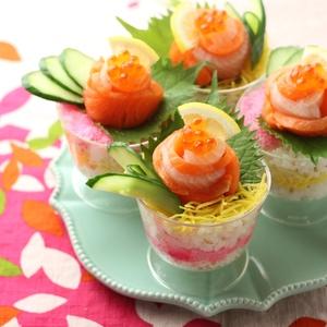 お祝い☆デコちらし寿司