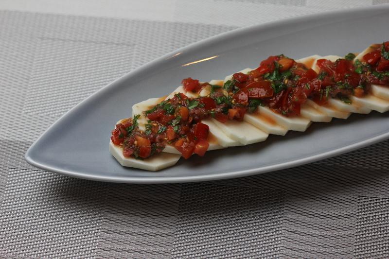 山芋とトマトのイタリアンサラダ