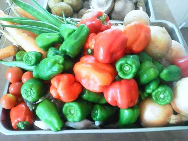 自農園野菜