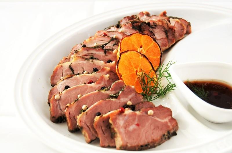 豚肉とオレンジのまるごと焼き