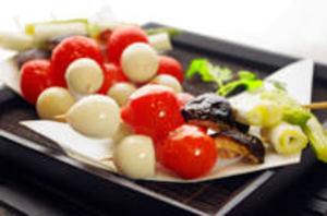 4種のカラフル野菜串