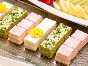 季節の一口ミニケーキ