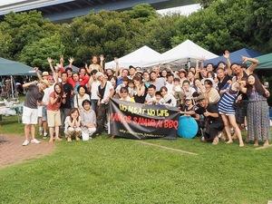バモスサムライBBQイベント70名‼️若洲海浜公園BBQ‼️