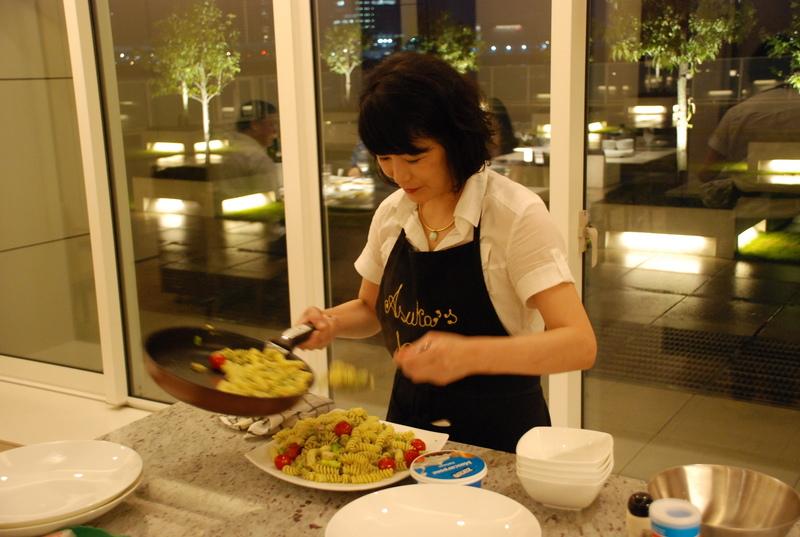 中央区タワーマンションでの出張料理メニュー