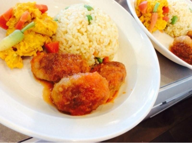 豊島区タワーマンションパーティールームに出張料理2(サラダ)