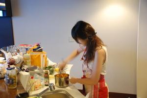 港区芝浦タワーマンションでのホームパーティー料理メニュー3