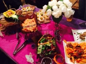 渋谷区レンタルスペースにて、 企業様のお食事会メニュー