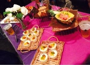 渋谷区レンタルスペースにて、 企業様のお食事会メニュー4