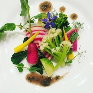 農園野菜のガルグイユ