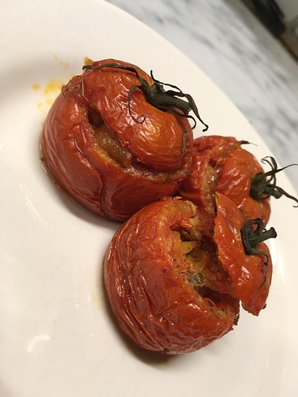 ミディトマトのオーブン焼き~牛肉のリピエーニ~