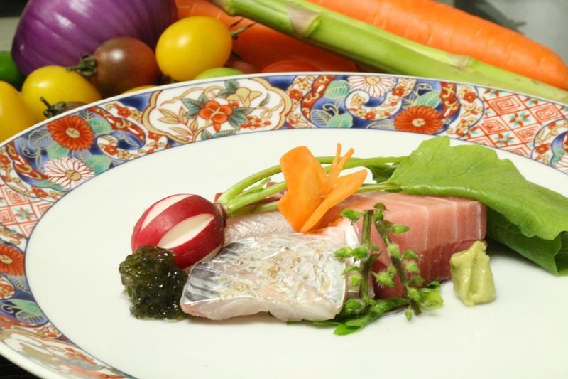 【和食専門】若山のお料理です。