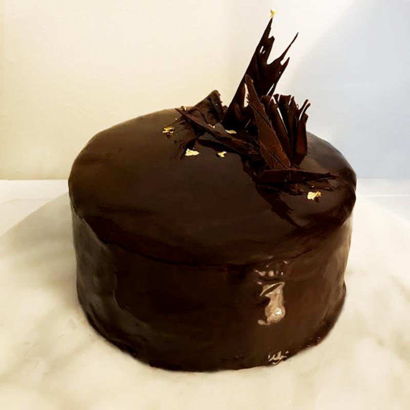 chocolat× framboise cake