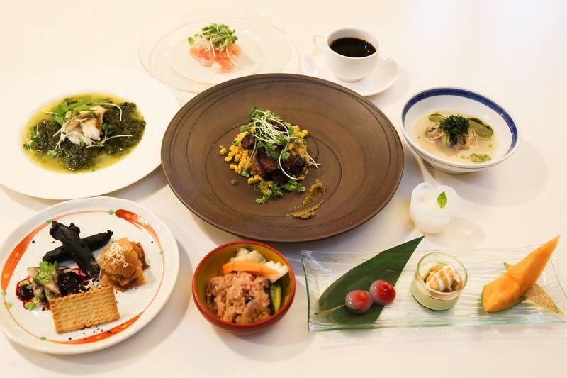 【和の結婚式でのコース料理】オリジナルコース料理でおもてなし