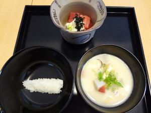 冬の茶懐石(一汁五菜)