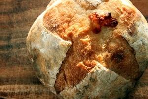 【パンレッスン】自家製酵母のチーズカンパーニュ
