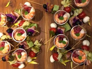 【有機野菜・無農薬野菜】フィンガーフード付きカジュアルパーティープラン