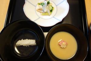 春の茶懐石(一汁五菜)