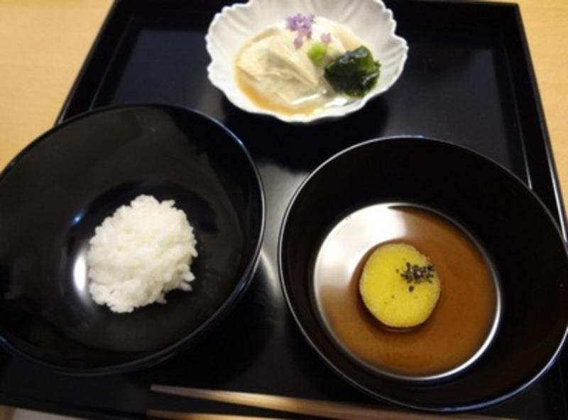 夏の茶懐石(朝茶事)