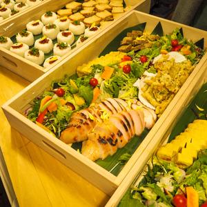 旬の国産野菜にこだわったケータリングパーティープラン