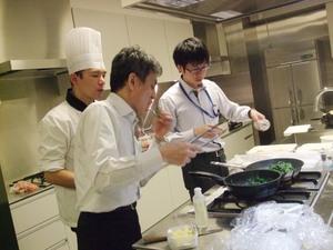 料理レッスン ¥7500