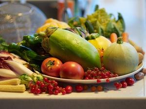 伝統野菜を使ったフルコース