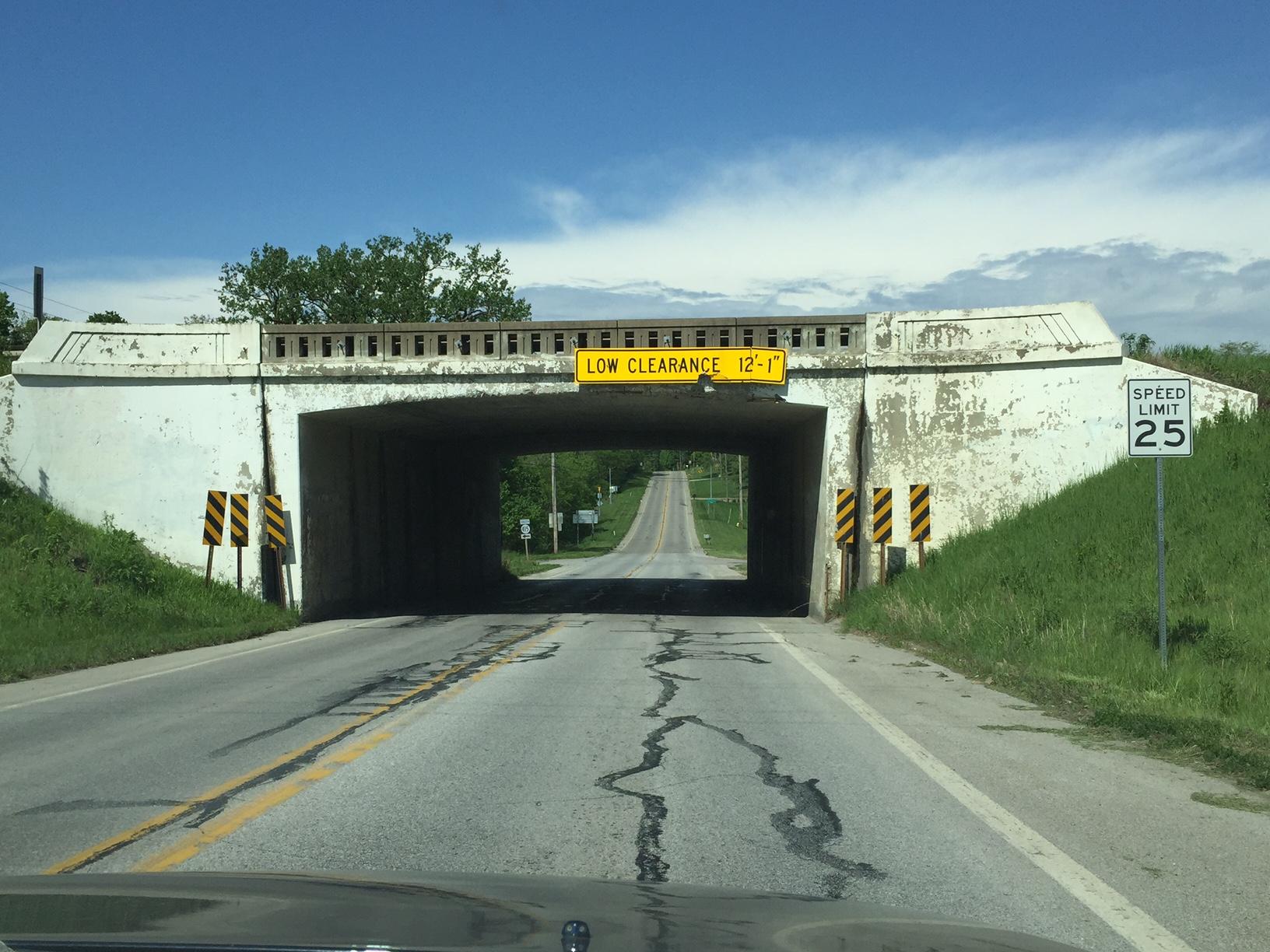 One of Iowa's structurally deficient bridges