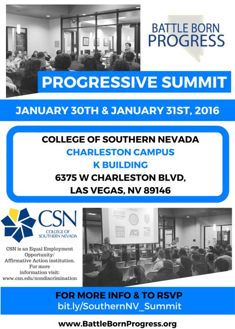 Progressive Summit 2016_Southern Nevada  Progress Now Nevada