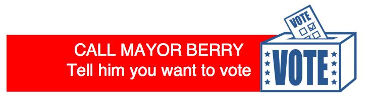 Call Mayor Berry