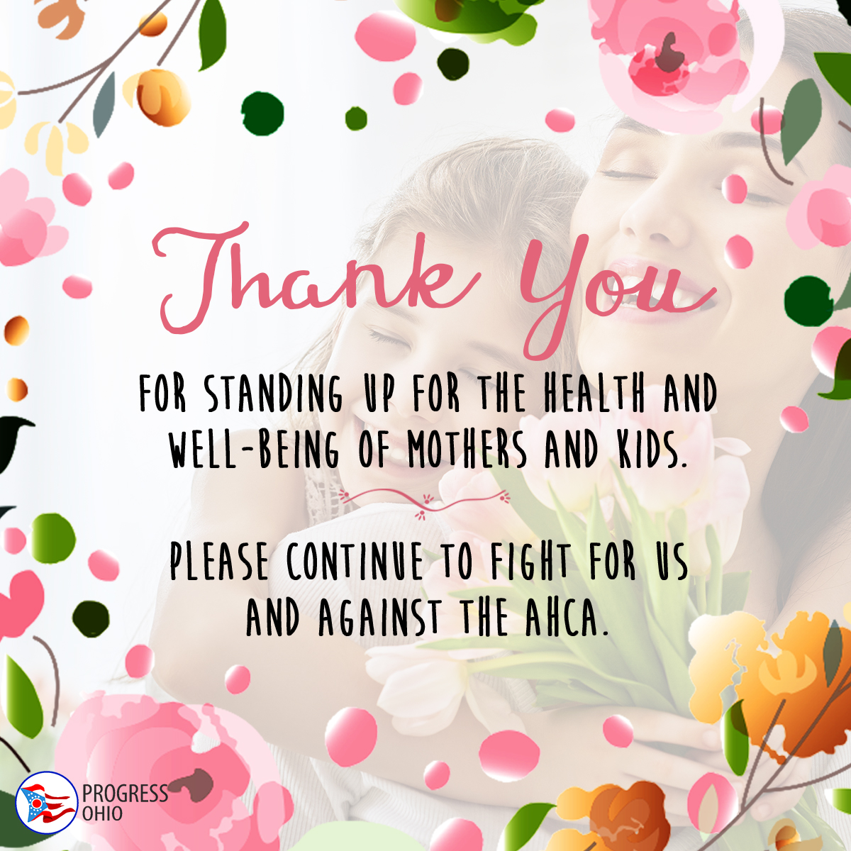 Thank you for voting against the ahca progressohio thank you donald trumps health care bill would strip care from millions of americans cut the medicaid program and give up to 600 billion in tax breaks kristyandbryce Choice Image