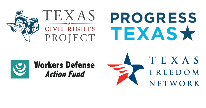 TCRP, Progress Texas, WDP Action, TFN