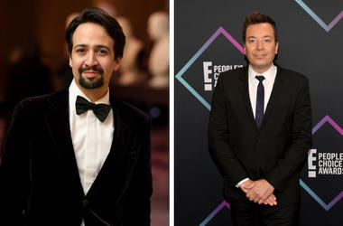 Lin-Manuel Miranda and Jimmy Fallon